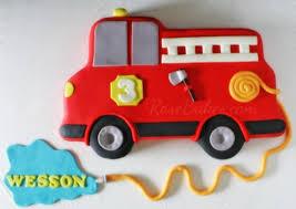 firetruck cake firetruck sheet cake bakes