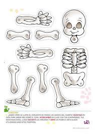 halloween skeleton game halloween skeleton worksheet free esl printable worksheets made