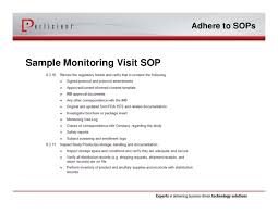 monitoring visit report template optimizing siebel ctms with electronic trip reports