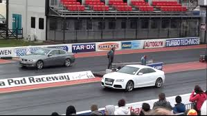 bmw vs audi race bmw 3 series v audi a5 drag race 1 4 mile