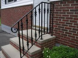 outdoor stair railings home depot a more decor