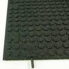 rubber flooring tiles ridiculous or genius