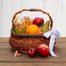 sympathy fruit baskets thoughtful sympathy fruit basket the fruit company