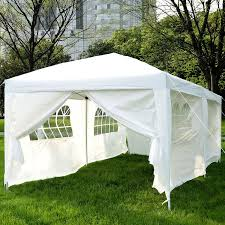 Outdoor Patio Canopy Gazebo by Outsunny 10 U0027x20 U0027 Outdoor Folding Pop Up Party Tent Wedding Gazebo