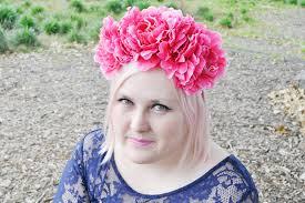flower headbands diy fashion hayley diy floral headband