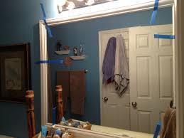 diy framed bathroom mirrors brady lou project guru