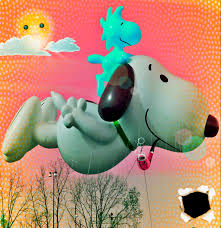snoopy thanksgiving video snoopy banned from parade for using inhalants fm observer fargo