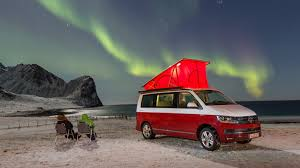 vw california 2017 review camping at the arctic circle by car