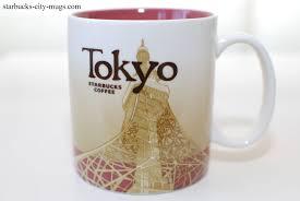 tokyo starbucks city mugs