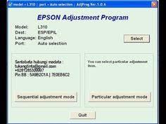 cara download resetter epson l1300 resetter epson l1300 free download resetter epson pinterest free