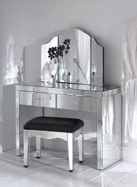 brazia mirrored bedroom furniture fabulous mirrored makeup vanity table mr 201121 console brilliant