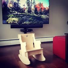 chaise cass e puzzle rocking chair made of wood chaise berçante casse tête en