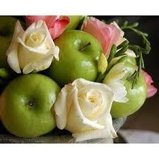 16 best fruity decor images on pinterest apple centerpieces be