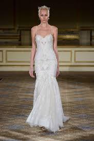 wedding dresses photos berta fw16 drop waist gown with straps