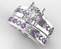 bridal ring sets unique diamond bridal ring set vidar jewelry unique custom