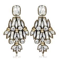 suzanna dai earrings suzanna dai navy turquoise beaded earrings hauteheadquarters