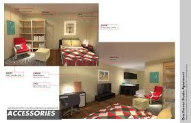 Efficiency Apartment Floor Plan Ideas Cgtrader Com 2d Furniture Floorplan Top Down View Style Imanada