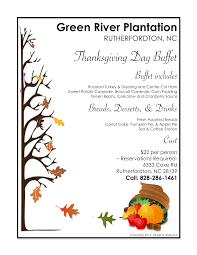 thanksgiving asheville nc green river plantation annual thanksgiving day buffet u2013 join us