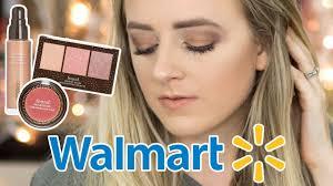 testing new walmart makeup brand new drugstore makeup found