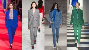 Pant Suits Pantsuits Are Shaping Up To Be Nyfw S Trend Fashionista