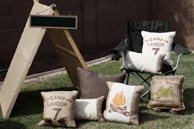 a backyard camping birthday party anders ruff custom designs llc
