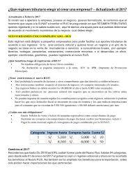 cronograma de sunat 2016 rus qué régimen tributario elegir al crear una empresa