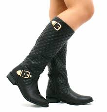womens quilted boots uk 207 best boots images on shoes the knee boots