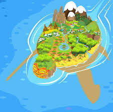 island on map oloko the island s map by mausetta on deviantart