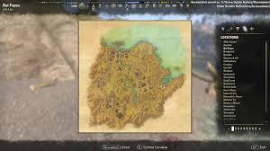 Greenshade Ce Treasure Map Bal Foyen Skyshards Map Elder Scrolls Online Guides With Eso Eso