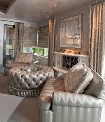 phoenix corner window treatments living room traditional with
