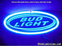 bud light neon light bud light 3d beer bar neon light sign beer bar neon signs