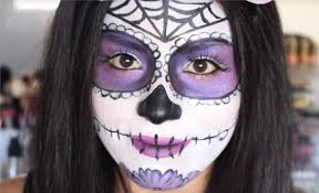 Black Eye Makeup For Halloween The 15 Best Sugar Skull Makeup Looks For Halloween Halloween