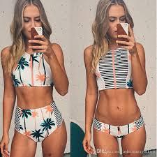 high waisted swimsuits swimwear women swimsuits thong bikini beachwear high waist swimsuit
