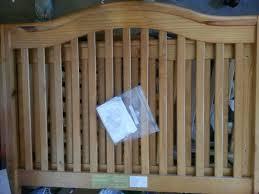 Sorelle Vicki 4 In 1 Convertible Crib Sorelle Vicki Crib 4 In 1 Oak On Pine Finish Baby In