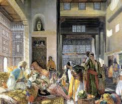 Ottoman Harem by John Frederick Lewis The Harem John Frederick Lewis Art
