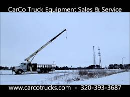peterbilt 335 with manitowoc national 800d crane for sale by carco