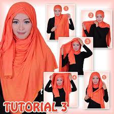 tutorial hijab pashmina kaos yang simple cara pakai hijab pashmina kabarmakkah com