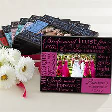bridesmaid gifts cheap bridesmaid personalized picture frame gift wedding and weddings