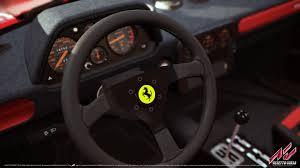 ferrari steering wheel assetto corsa ferrari 70th anniversary pack on steam