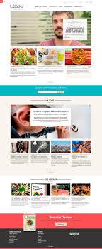 design magazine site opcions magazine site content architecture and usable design jamgo