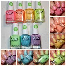 imperfectly painted color club poptastic pastel neon remix