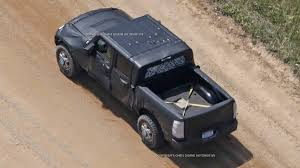 2017 jeep comanche truck review jeep wrangler pickup spy shots from jlwrangler
