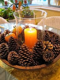 pine cone table decorations festive diy pine cone decorating ideas