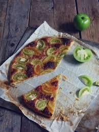 cuisiner les tomates vertes tarte aux tomates vertes artichaut et cerise