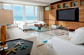 Top Beach Themed Living Rooms On Living Room With  Sea And Beach - Beach inspired living room decorating ideas