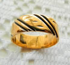 gold mens wedding bands astonishing mens gold wedding