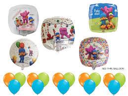 pocoyo party supplies pocoyo birthday party supplies balloons partyexpressinvitations