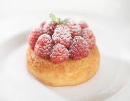 rum baba with raspberries recipe great british chefs