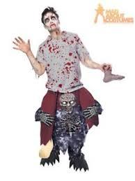 Zombie Costume Ride On Zombie Costume Halloween Piggy Back Fancy Dress