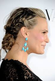 hairstyles with headbands foe mature women molly sims braided updo for homecoming homecoming hairstyles